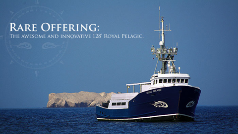 palegic email Royal Pelagic   128 Luxury Surf Charter   Yours for $4.3 Million