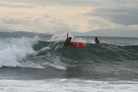 Local Surfer at Pavones