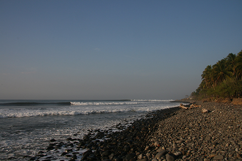punta roca Surf Destination: El Salvador