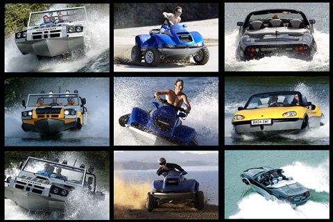 aquadada Amphibious Offroad Vehicles, Surfers Transportation Problems Solved