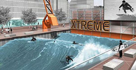London Surf Park, Venture Xtreme Project at Silvertown Quays