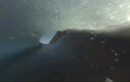 Barrel Shot At Teahupoo From Red Bull 360 Cam