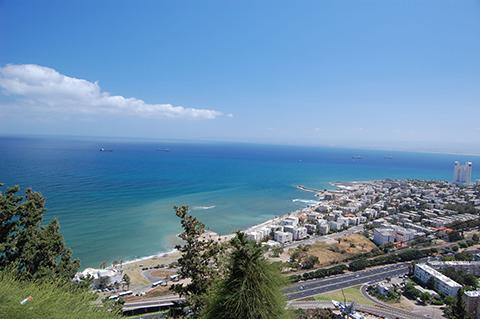 Haifa coast