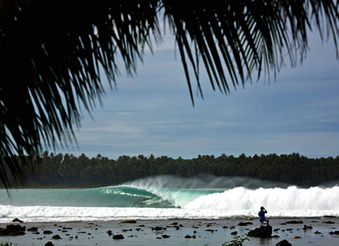The Wave at Lagundri Bay, Nias