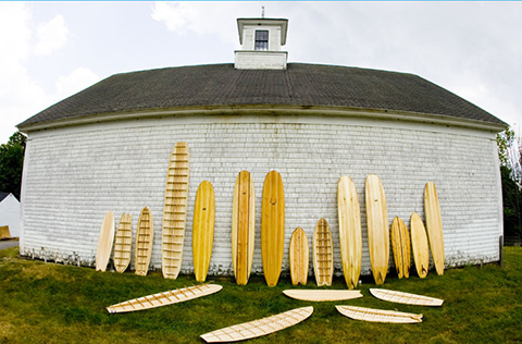 wooden surfboards quiver Return to Grace: Wooden and Environmentally Sustainable Surfboards