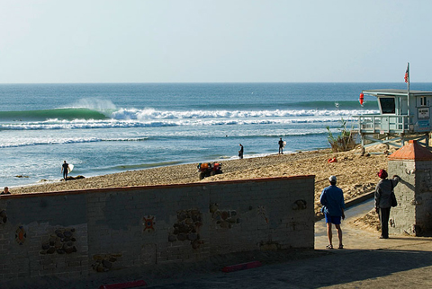 Malibu during an October Swell