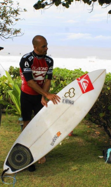 Kelly Slater - Deep Six Surfboard