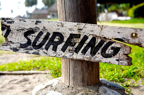 surfing sign Surf Photography on Flickr