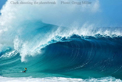 clark little shorebreak Clark Little Surf Photography   Stunning Images of Waves